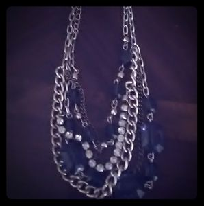 American Eagle Outfitters Blue Stone Necklace